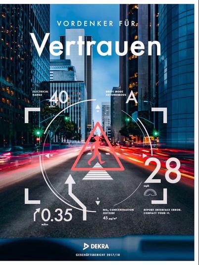 Titelblatt Geschäftsbericht 2017