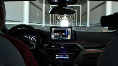 Fahrt auf dem DEKRA Testgelände für vernetztes Fahren in Málaga