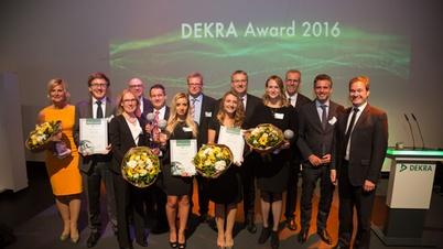 DEKRA Award 2016 Preisträger