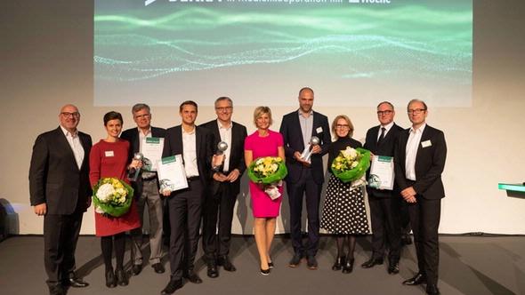 The winners of the prestigious DEKRA Award 2018