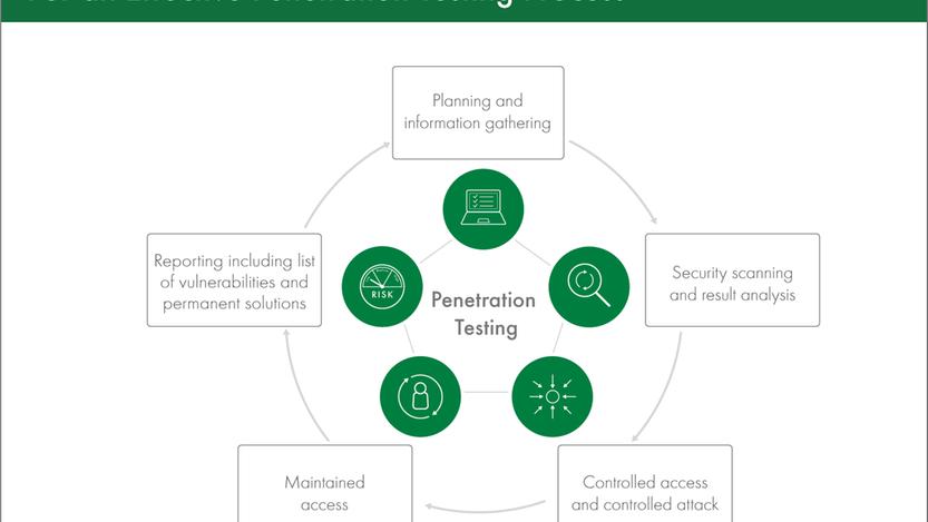 Penetration testing steps