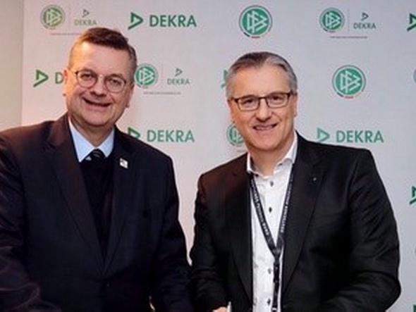 DEKRA und DFB-Schiedsrichter