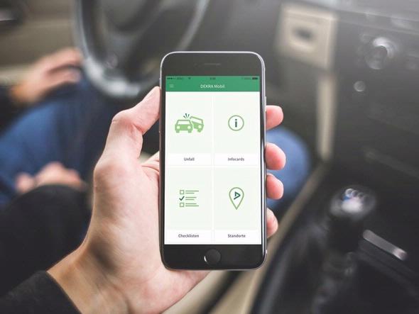 DEKRA mobile app