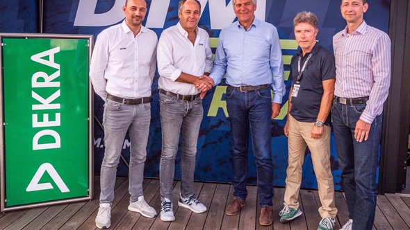 DEKRA und DTM setzen Partnerschaft fort