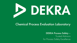 Chemical Process Evaluation (CPE) Laboratory – DEKRA Process Safety
