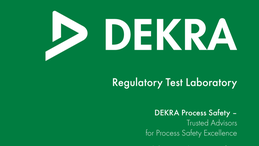 Regulatory Test Laboratory – DEKRA Process Safety