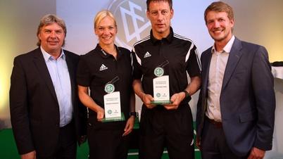 Preisverleihung DFB und DEKRA - Schiedsrichter des Jahres
