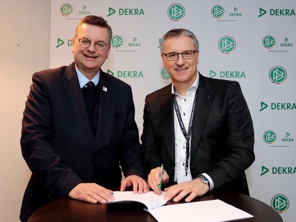 DEKRA bleibt Partner der DFB-Schiedsrichter