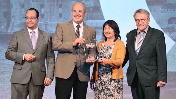 European Commercial Vehicle Safety Award Alexander Berg