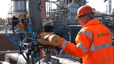 Explosion protection for industrial processes