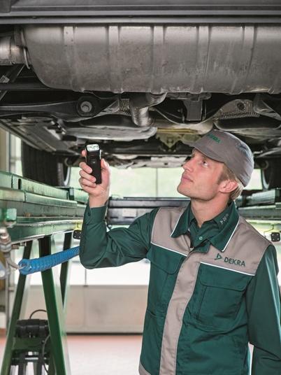 DEKRA Fahrzeugprüfung 1