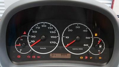Kontrollleuchten Im Auto Cockpit