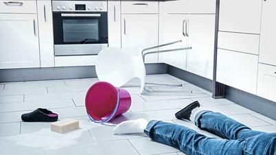 Unfallsituation in der Küche